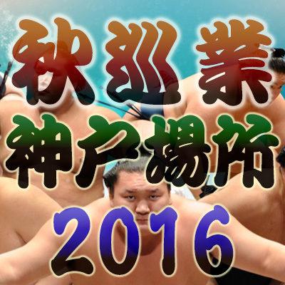 相撲秋巡業 大相撲 兵庫 神戸場所 2016年