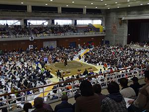 大相撲 巡業 スケジュール 一日の流れ 春春巡業 力士 宿 宿泊先 関取 横綱