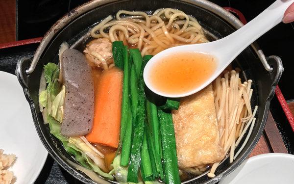 ちゃんこ定食 醤油ちゃんこ 寺尾 スープ