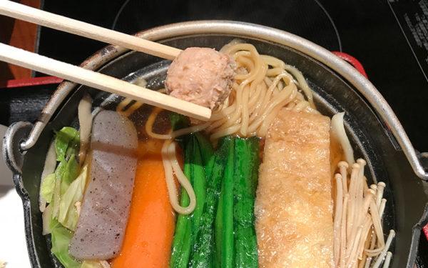 寺尾 ランチ ちゃんこ定食 醤油ちゃんこ 肉団子