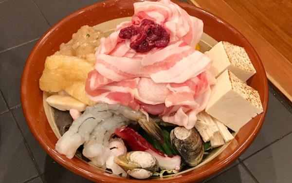 宝塚 両国 ちゃんこ鍋 具材