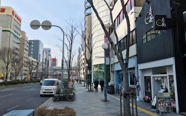 相撲茶屋 寺尾 大阪店 2号線沿い