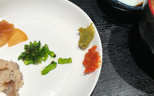 相撲茶屋 寺尾 薬味 柚子胡椒