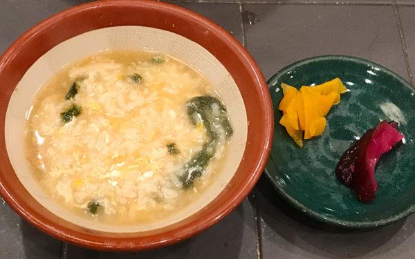 両国 ちゃんこ鍋 〆 雑炊
