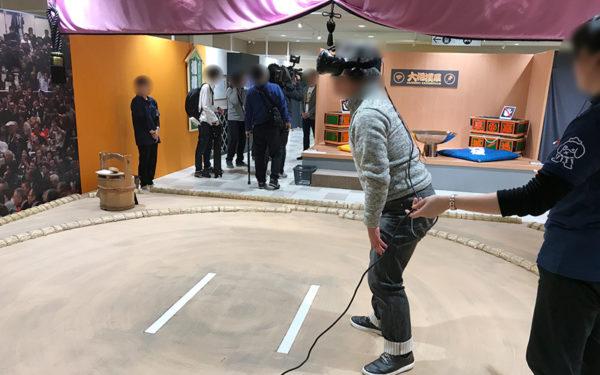 大相撲展 VR エンターテインメント VR相撲