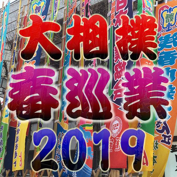 大相撲 2019年 平成31年 春巡業 スケジュール 開催場所 チケット 料金 発売